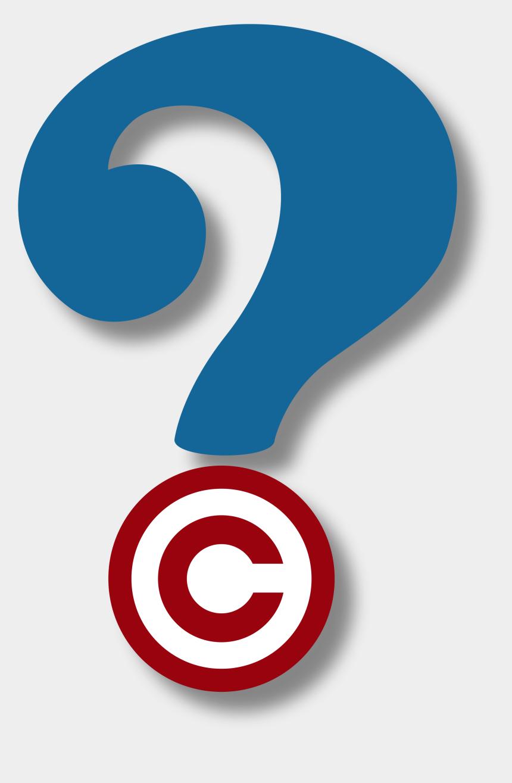 question mark clipart, Cartoons - Copyright Questions