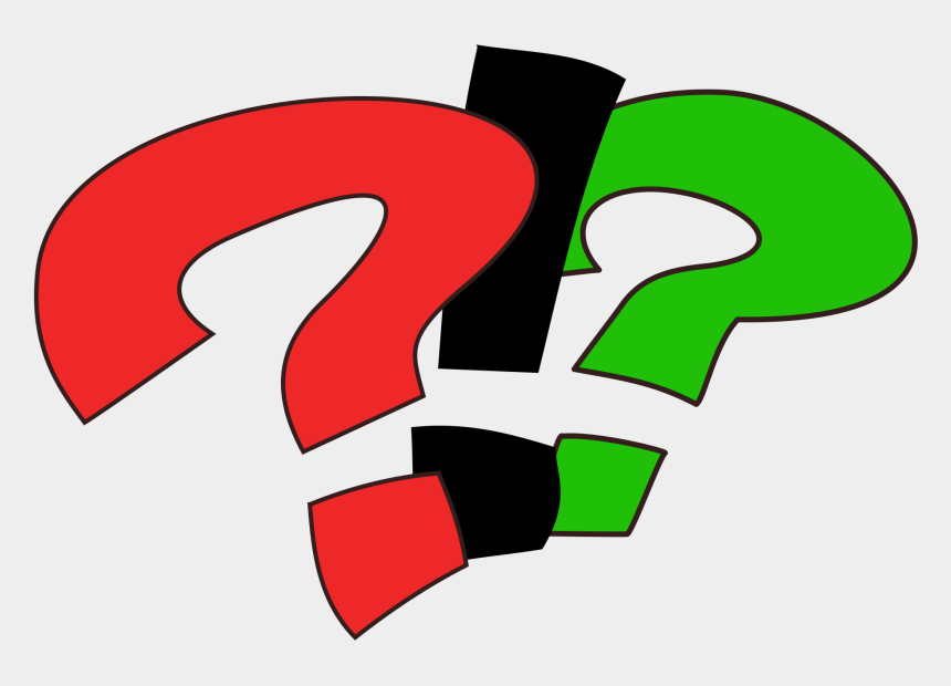question mark clipart, Cartoons - Question And Exclamation Mark Png
