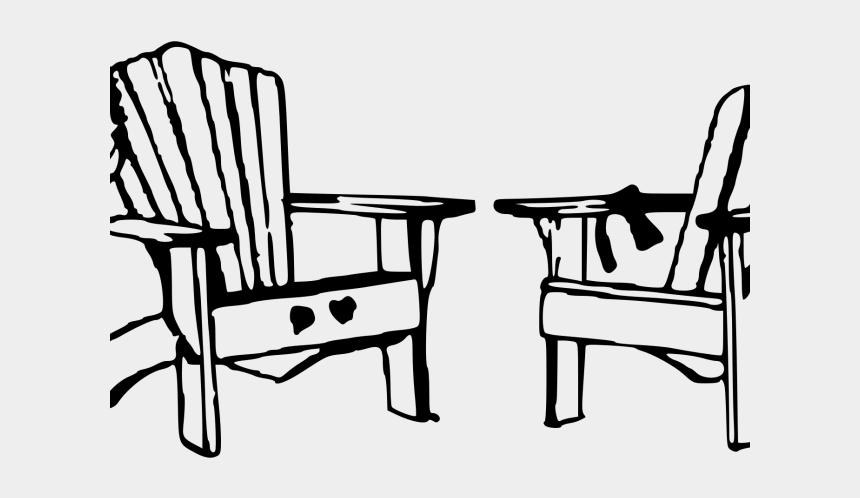 chair clipart, Cartoons - Beach Chair Clipart - Beach Clip Art Black And White