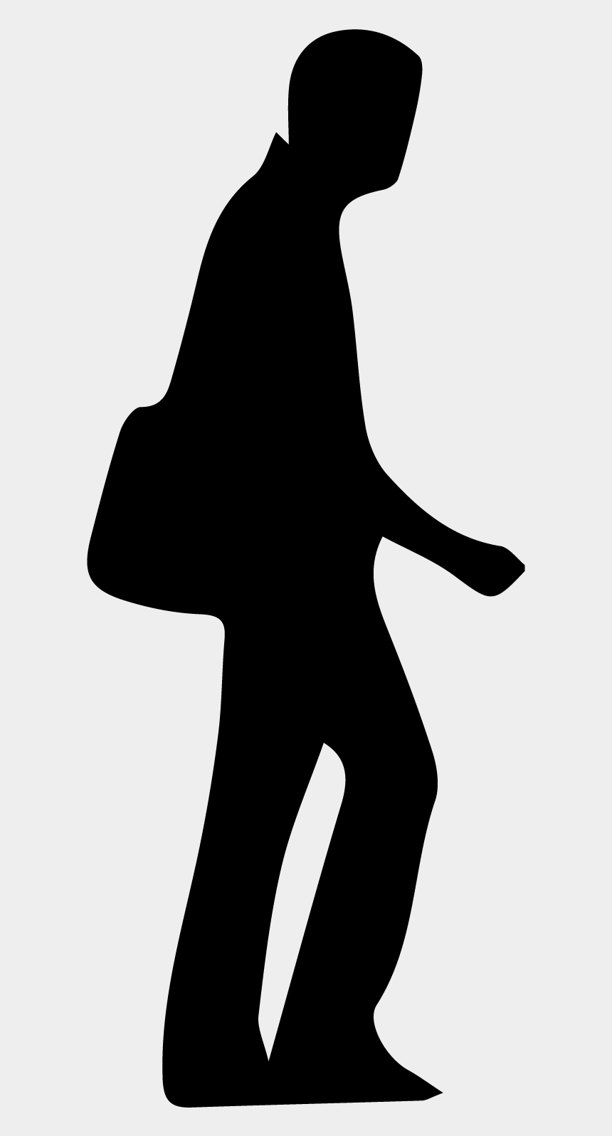 walking clipart, Cartoons - Clipart Walking Man Walking - Man Walking Right Silhouette