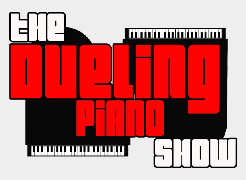 piano clipart, Cartoons - Piano Clipart Dueling Pianos - Graphic Design