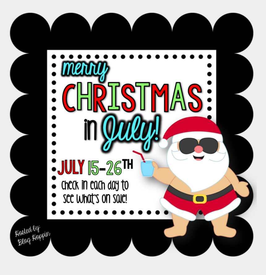 Merry Christmas In July Clipart.Christmas In July Clipart Christmas Day Cliparts