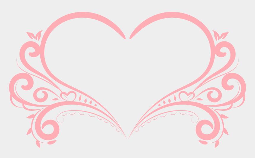 running clipart, Cartoons - Heart Decorative Transparent Png Image - Heart Decoration Png