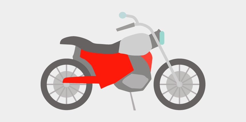 motorcycle clipart, Cartoons - Motorcycle Clipart Two Wheeler - バイク イラスト 無料 素材