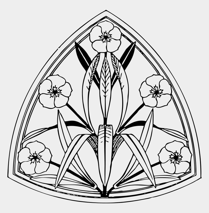 clipart design, Cartoons - Art Nouveau Line Art