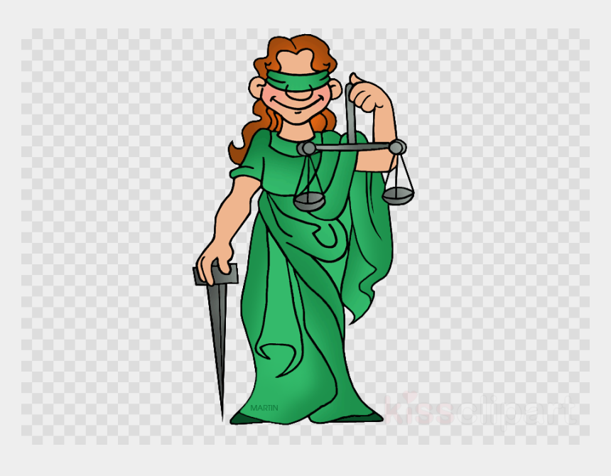 Lady Of Justice Clipart Lady Justice Clip Art - Transparent