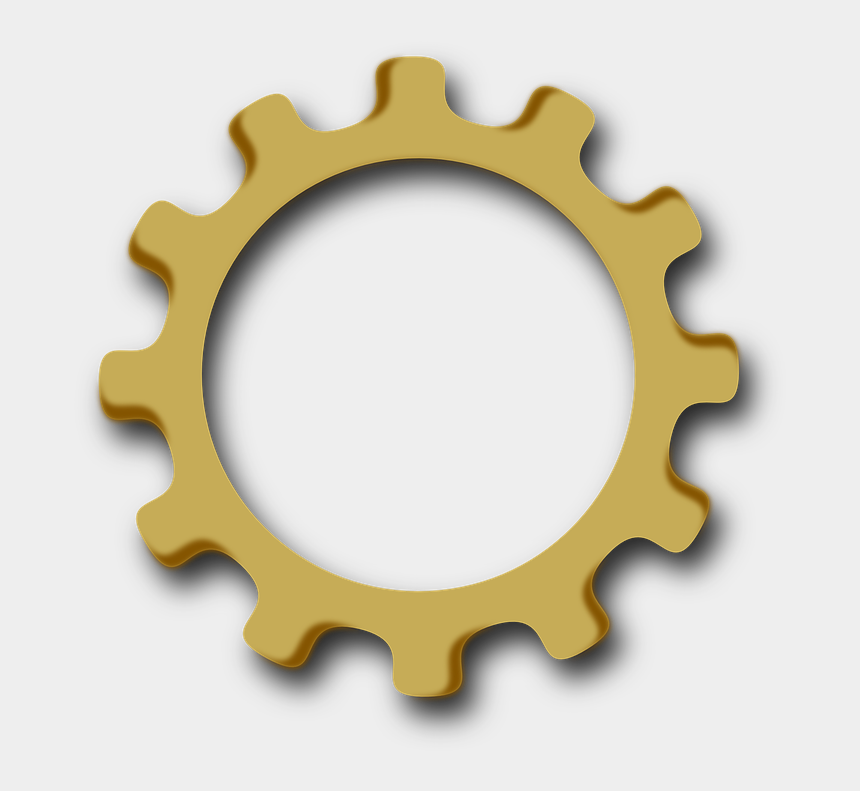 gear clipart, Cartoons - Gear Wheel Clip Art - Gear Wheel