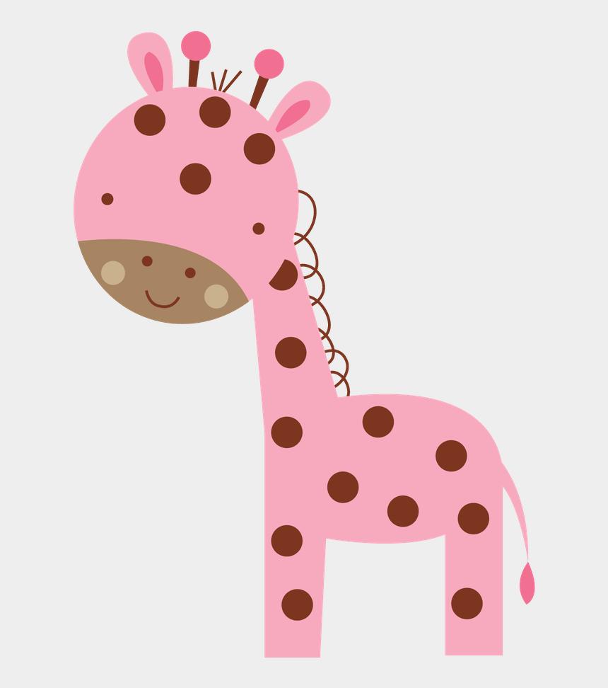 baby girl clipart, Cartoons - Girl Clipart Giraffe - Pink Baby Giraffe Clipart