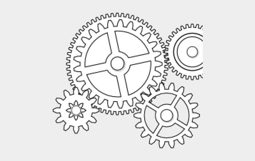 gear clipart, Cartoons - Steampunk Gear Clipart Colorful Gear - Brain And Gears