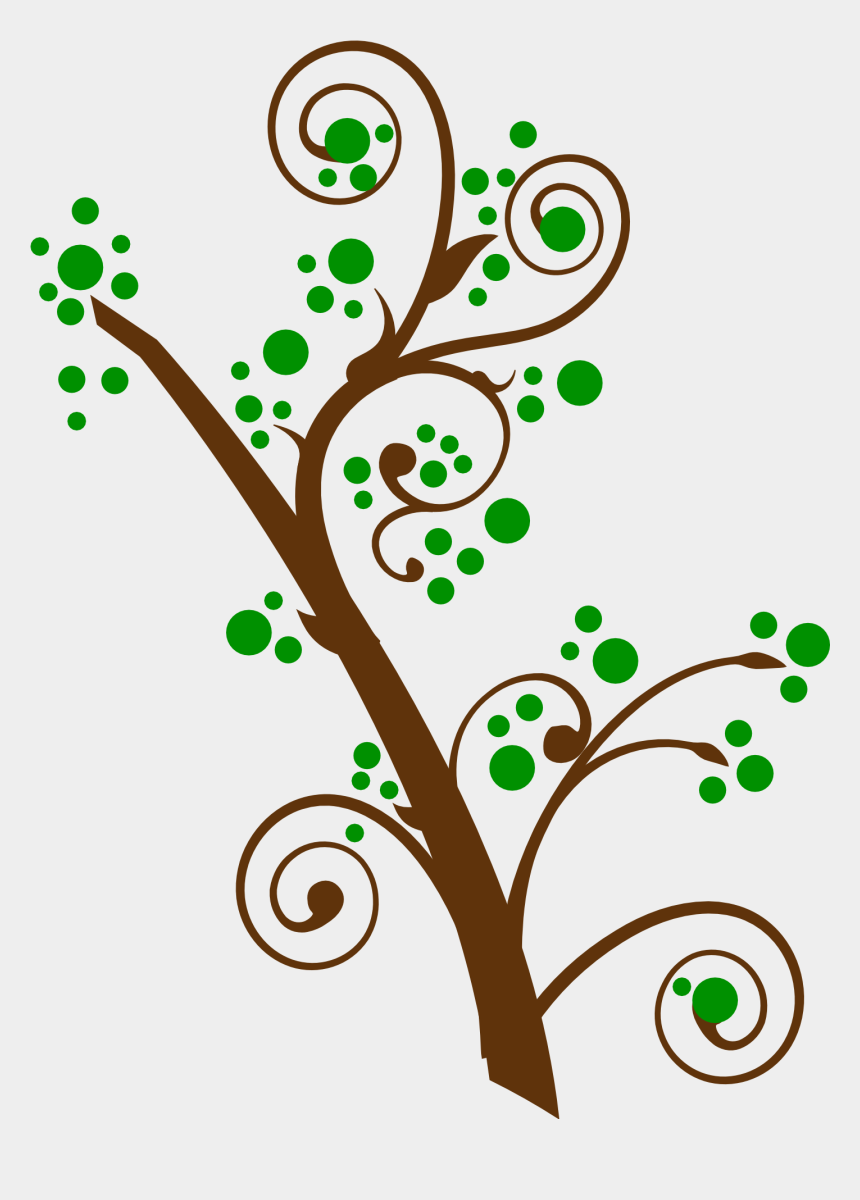 swirl clipart, Cartoons - 1556 X 2080 - Tree Swirl Png