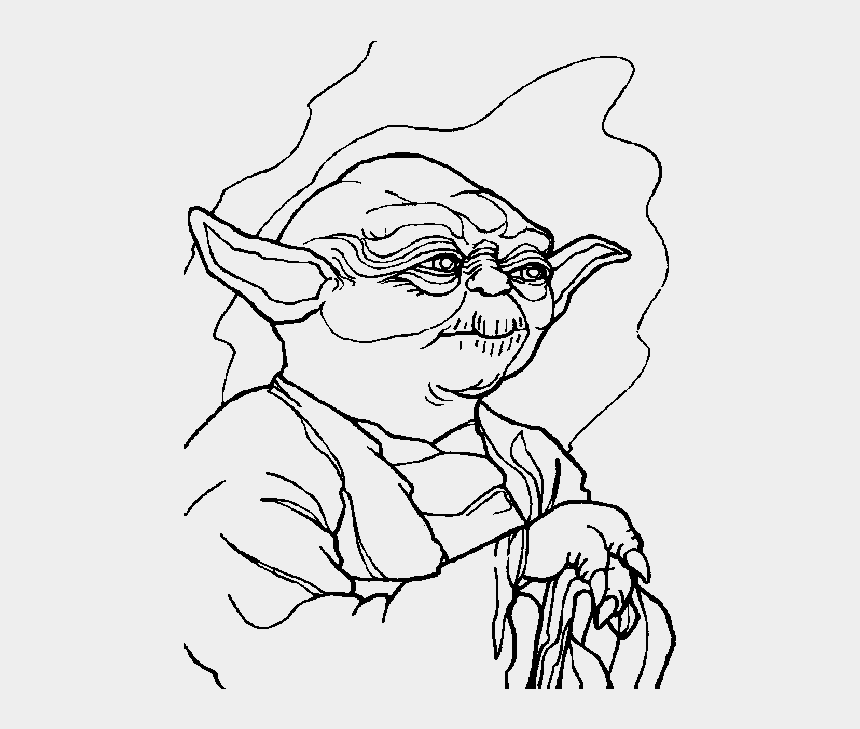 clipart coloring pages, Cartoons - Black Stars Clipart Border - Star Wars Coloring Pages