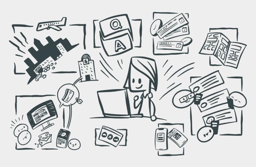 event clip art, Cartoons - Platform - Event Management Cartoon