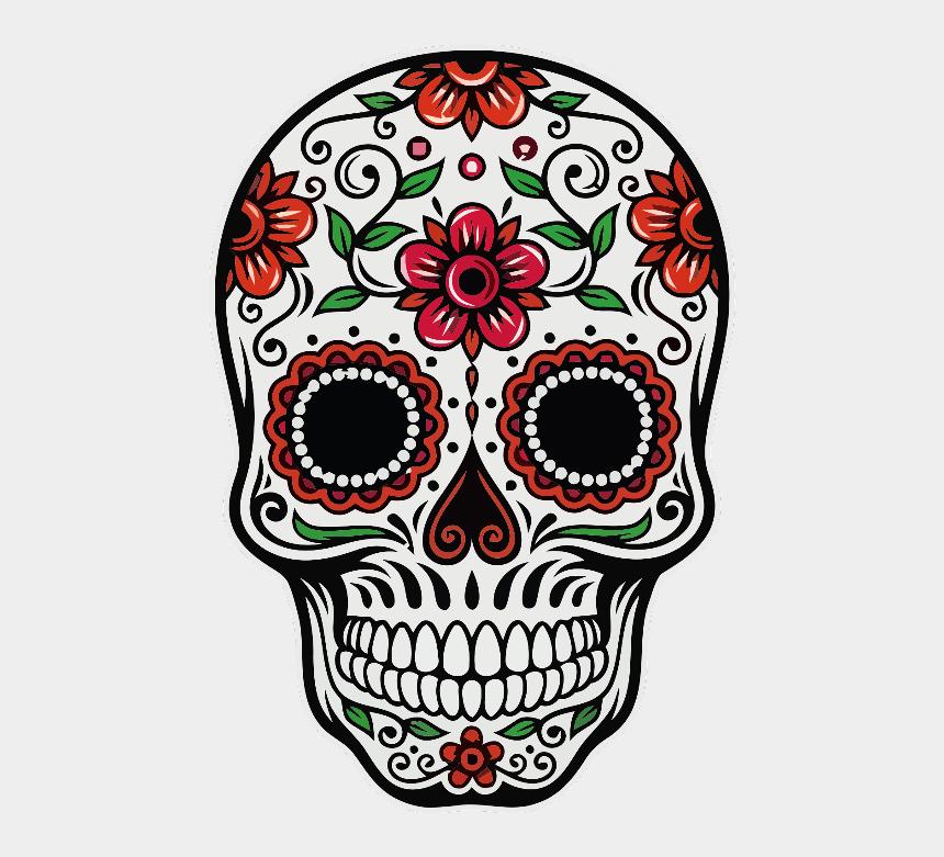 dia de los muertos clip art, Cartoons - Freetoedit Ftestickers Sugarskull Diadelosmuertos - Mexican Day Of The Dead Skull