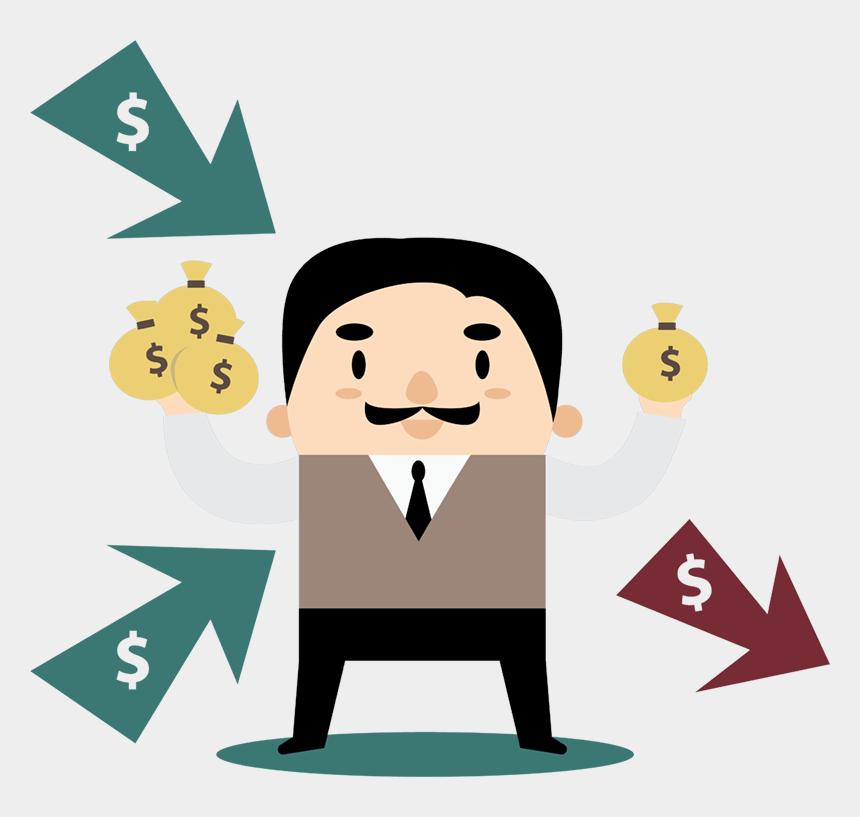 stock market clip art, Cartoons - Spend Less Than You Make
