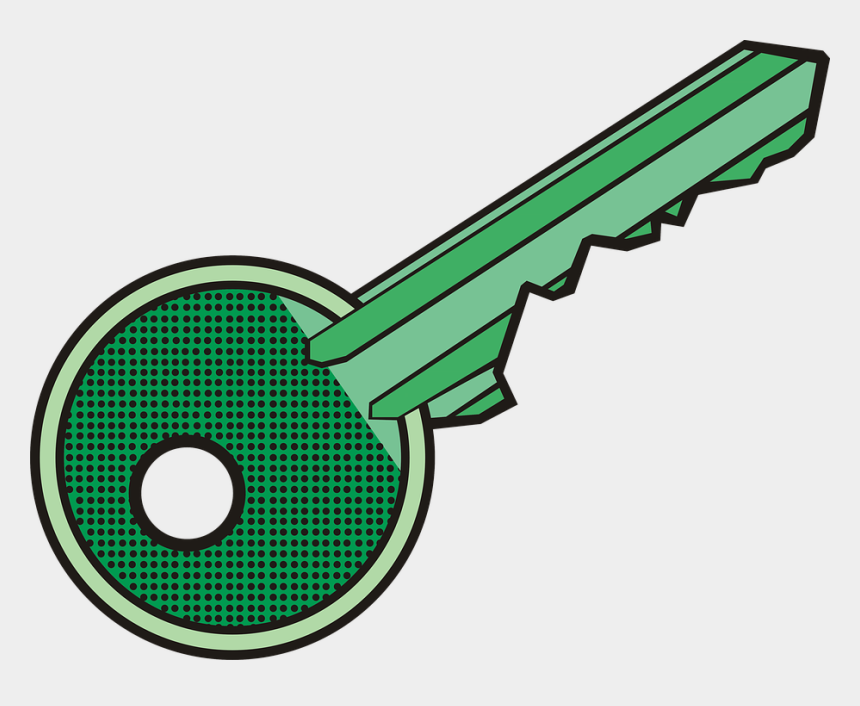 lock and key clip art, Cartoons - Old Drawing Lock And Key - Desenho De Chave De Porta