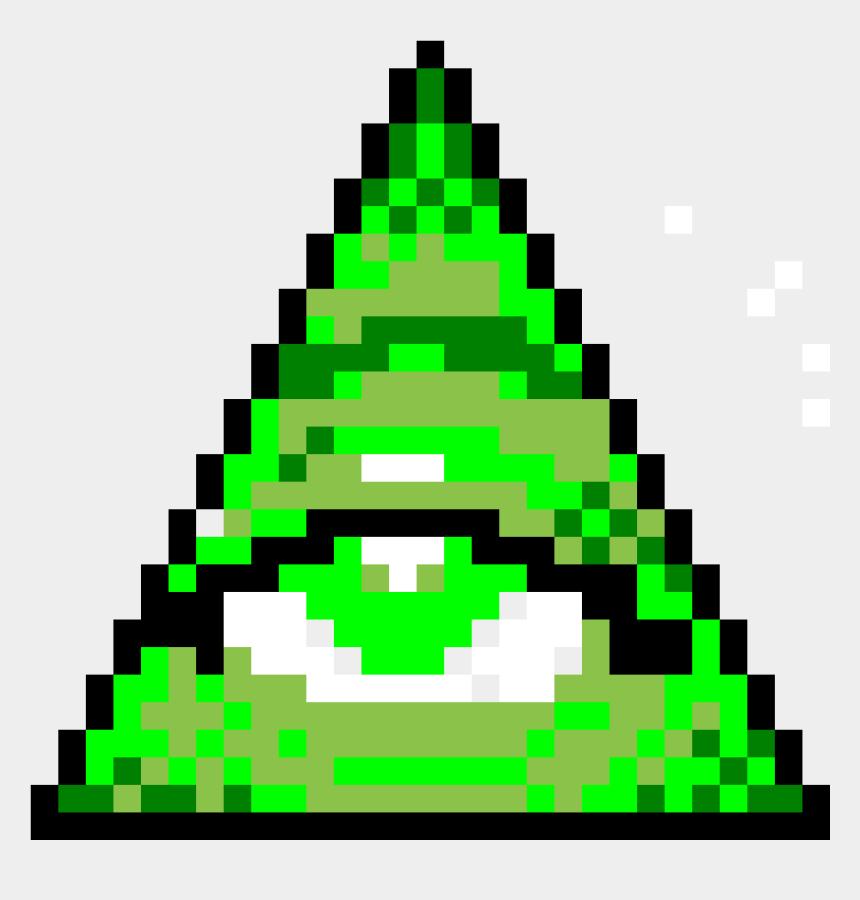 illuminati clip art, Cartoons - Illuminati Pixel Art Clipart , Png Download - Illuminati Pixel Art