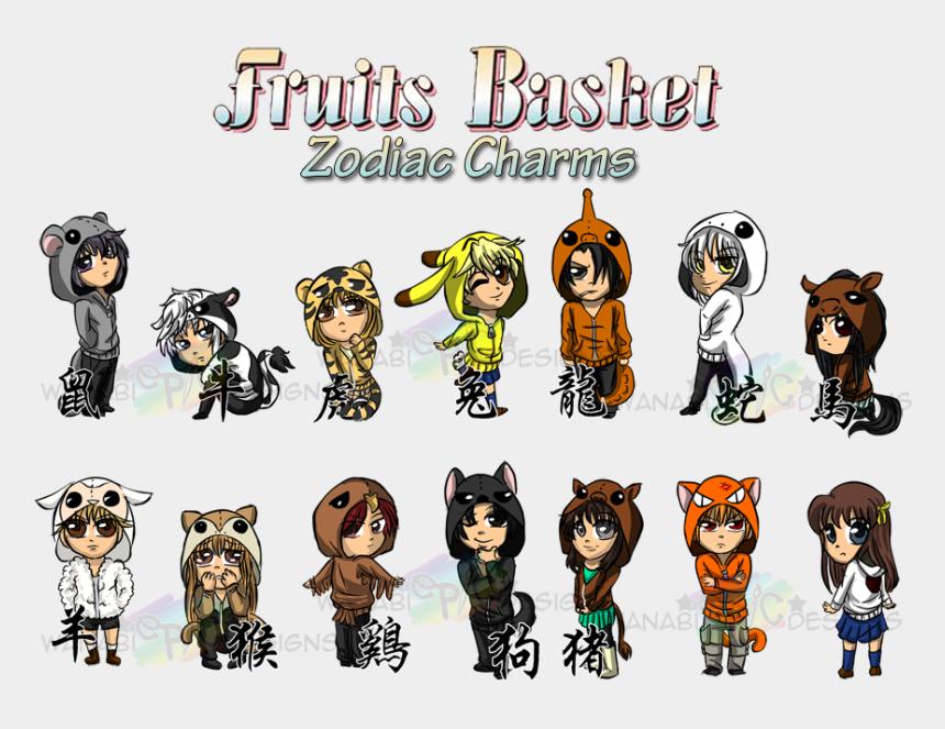 Anime Kyo And Momiji Image Zodiac Animal Fruits Basket Characters Cliparts Cartoons Jing Fm