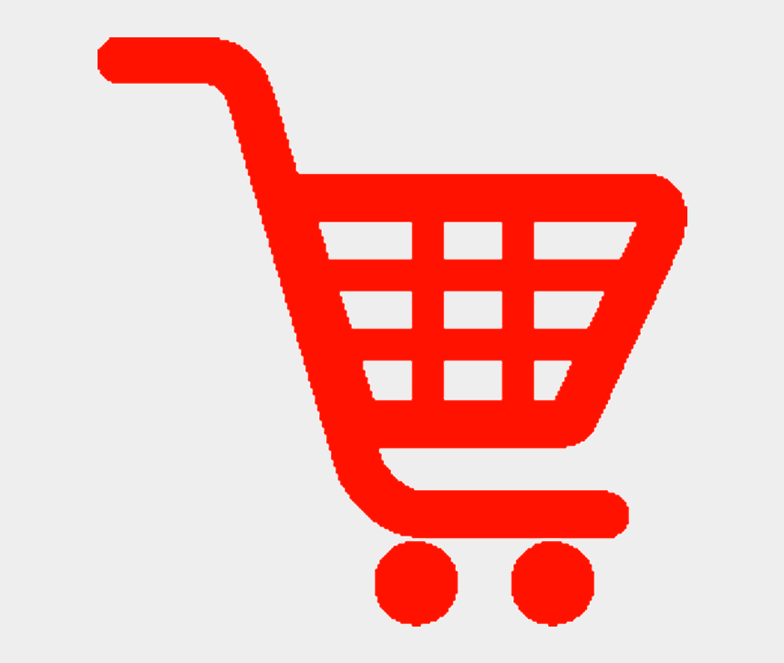 grocery shopping clip art, Cartoons - 10 Best Online Grocery Shopping In Bhubaneswar Images - Red Shopping Cart Icon
