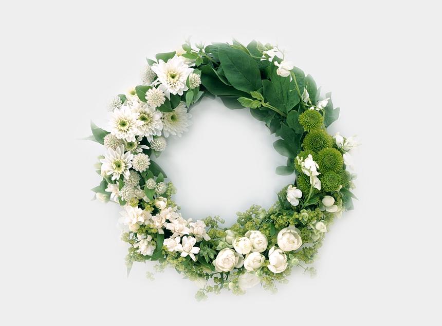 advent wreath clipart free, Cartoons - Advent Wreath Funeral Flower Garland - Flower Garland For Funeral