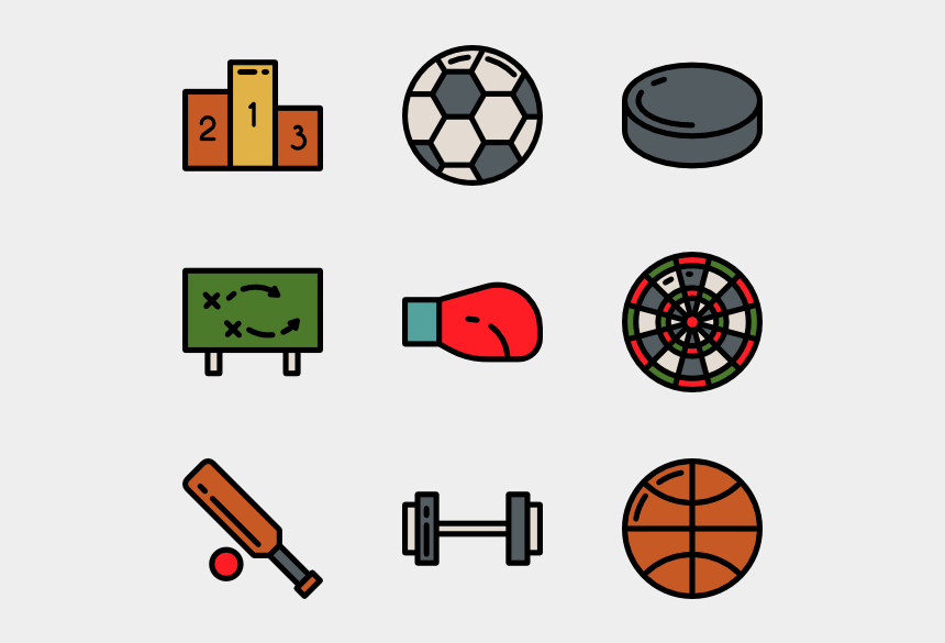 outdoor sports clipart, Cartoons - Athlete Icon Packs - Transparent Sports Icon Png
