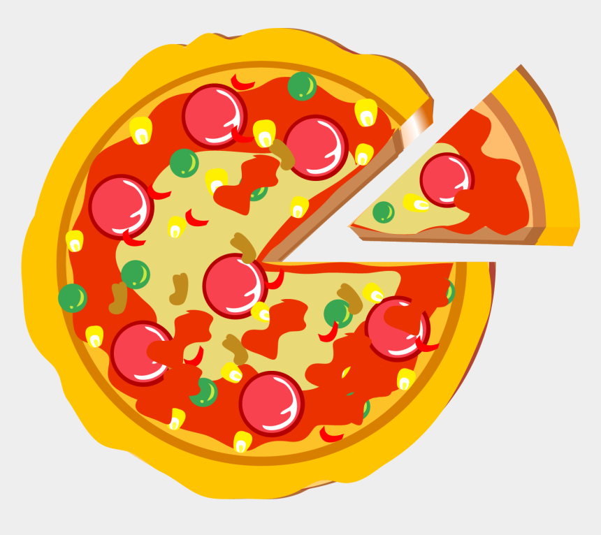 italian restaurant clip art, Cartoons - Food Vector Png Pizza