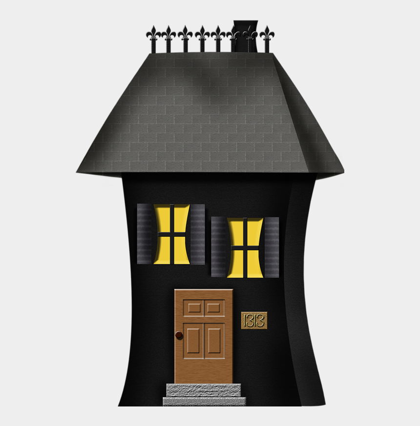 halloween haunted house clipart, Cartoons - Architecture
