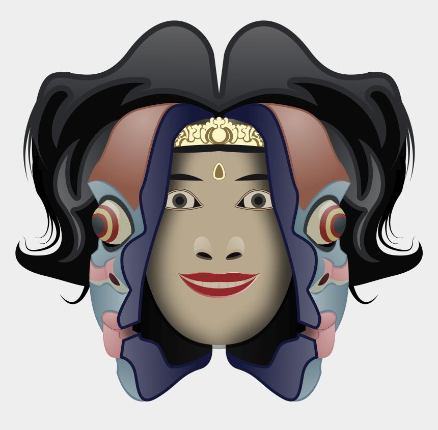 Bali Transformation Mask Cartoon Cliparts Cartoons Jing Fm