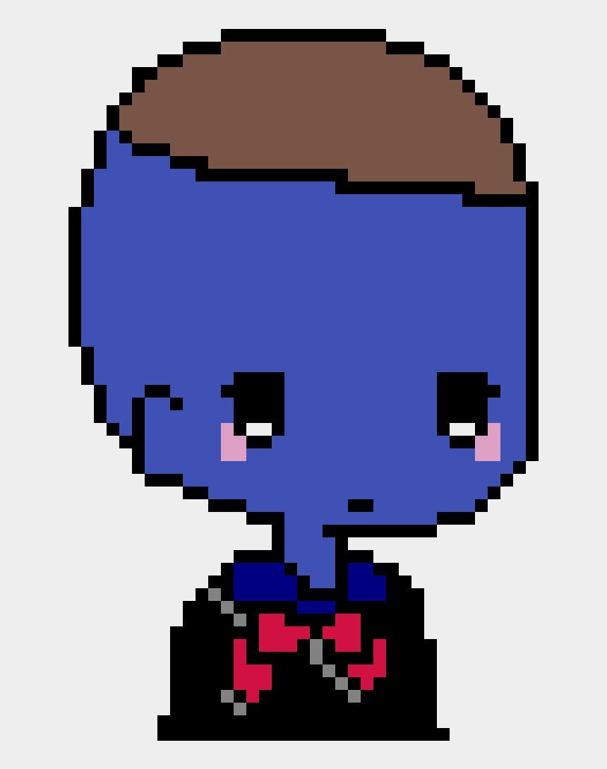 sad boy clip art, Cartoons - Deadpool Logo Pixel Art