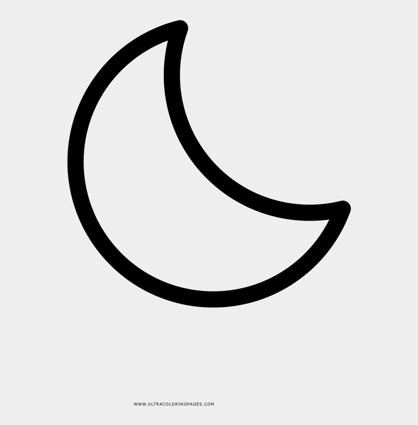 cresent moon clip art, Cartoons - Crescent Moon Coloring Page - Crescent Moon Coloring Pages
