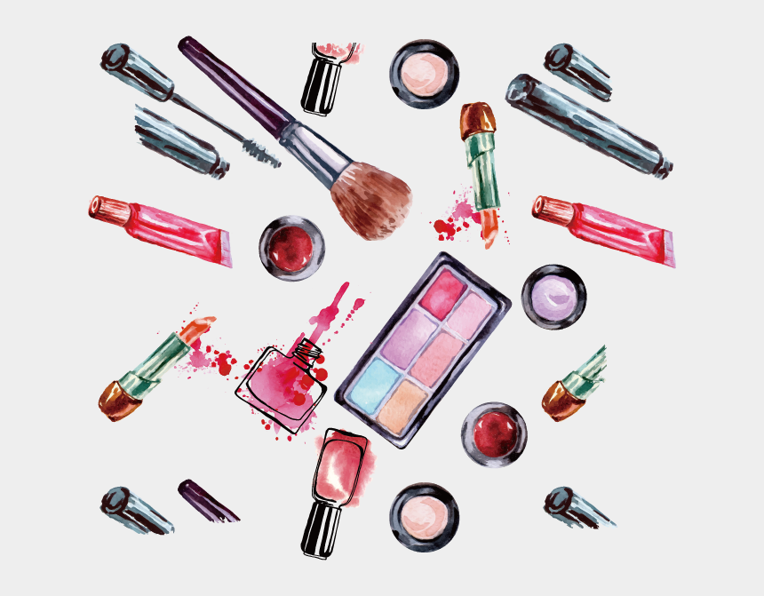 mascara clip art, Cartoons - Wall Eyelash Decal Vector Brush Mascara Women Clipart - Para Cuadros De Maquillaje