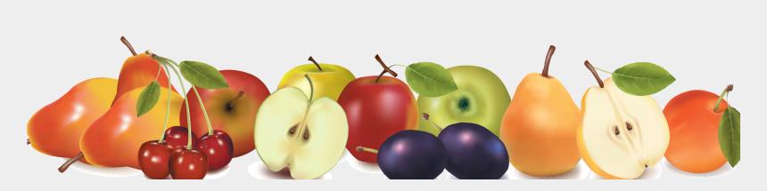 food border clip art, Cartoons - Border Design Acur Lunamedia - Fruit Border Clipart Png