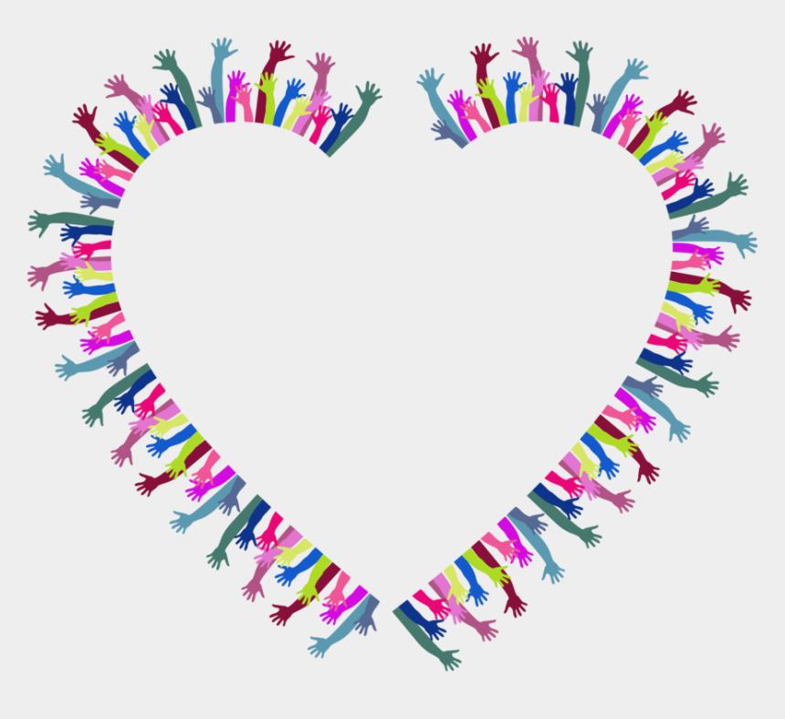 reaching hands clip art, Cartoons - Heart,love,symmetry - Heart In Hand Clipart