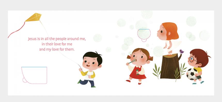 jesus loves the little children clip art, Cartoons - Cartoon