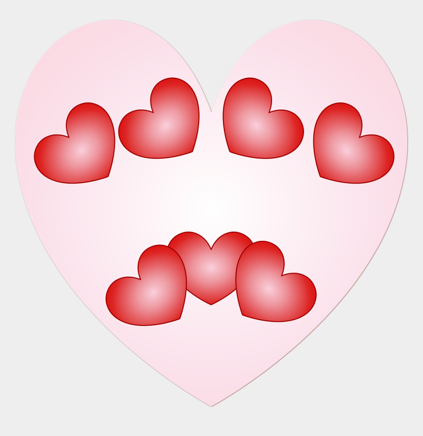 valentines day hearts clipart, Cartoons - S Day Hearts Heart - Love And Affection Transparent