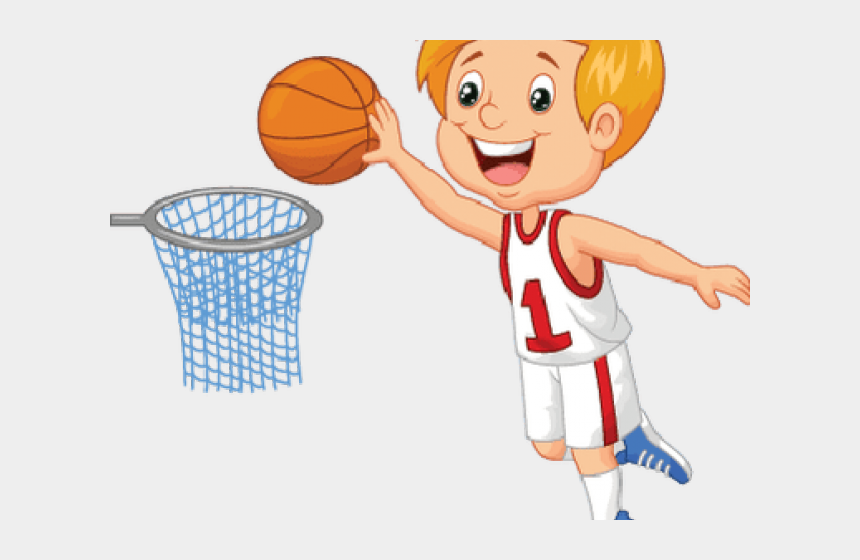 kids playing basketball clipart, Cartoons - Kids Playing Basketball Clipart - Boy Play Basketball Clipart