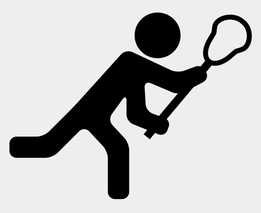 kids playing basketball clipart, Cartoons - Lacrosse Player - Lacrosse Player Icon