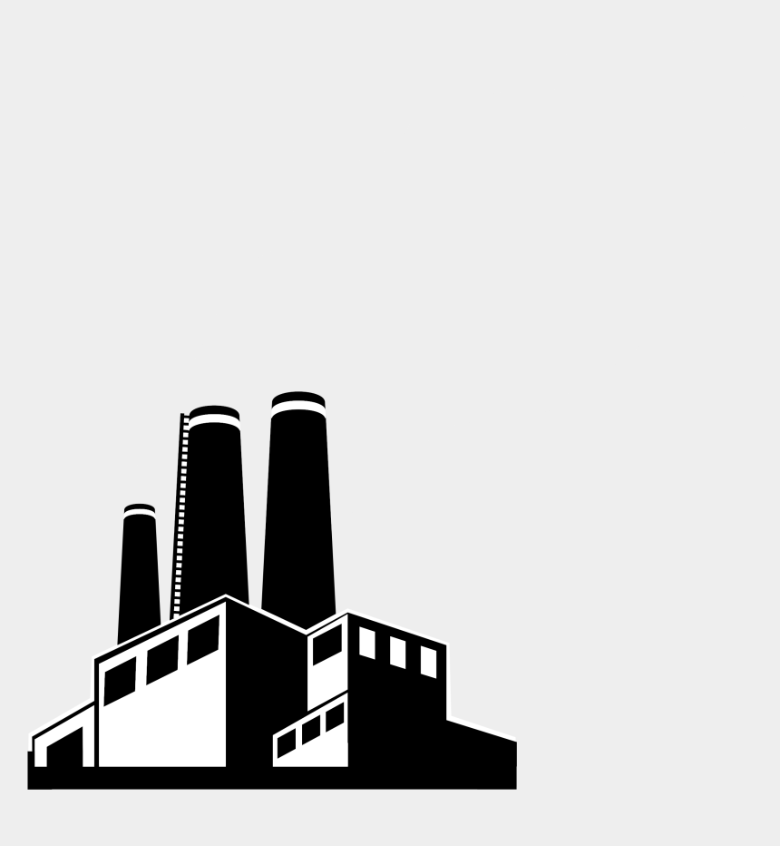 smoke clipart, Cartoons - Capitol Building Clipart Png - Black And White Factory Clipart