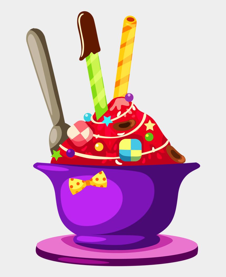 sweets clipart, Cartoons - Cupcake & Bolos E Etc Ice Cream Clipart, Ice Cream - Gambar Ais Kacang Kartun