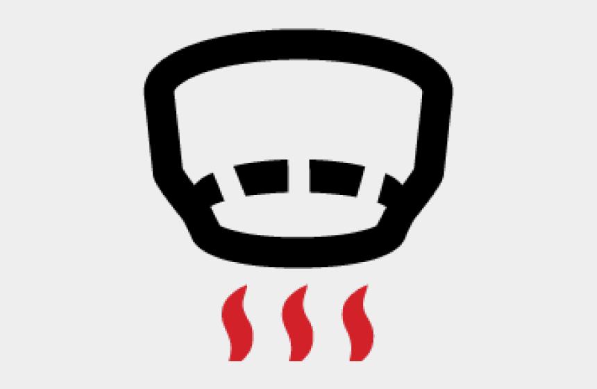 smoke clipart, Cartoons - Smoke Heat Detector Icon
