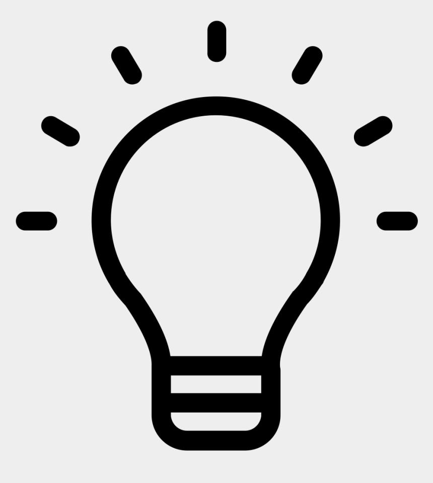 lightbulb clipart, Cartoons - Lightbulb Clipart Research Paper - Light Bulb Black And White Clipart