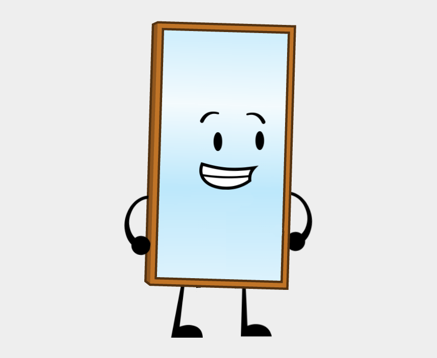 mirror clipart, Cartoons - Image Happy Png Battle For Dream Island Ⓒ - Bfdi Mirror