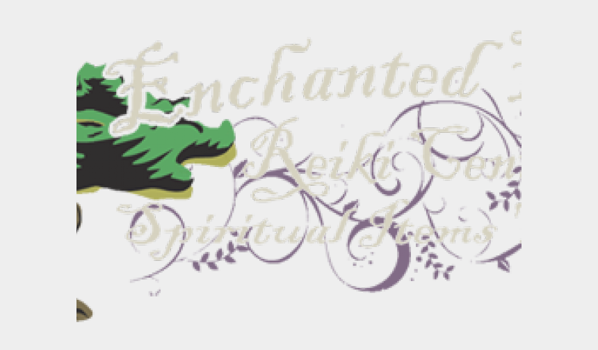 forest clipart, Cartoons - Forest Clipart Enchanted Forest - Calligraphy