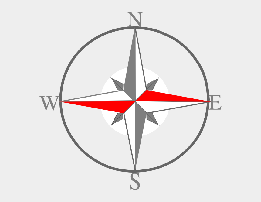 South Clipart Compass Logo - Compass Facing South East , Free Transparent  Clipart - ClipartKey