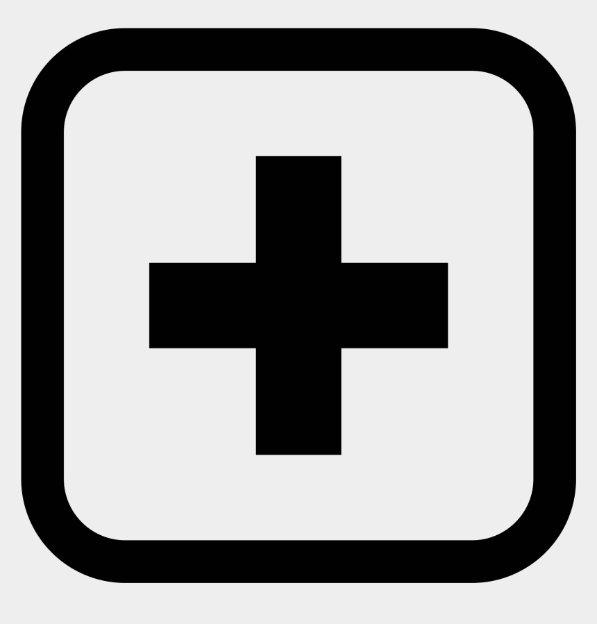 hospital clipart, Cartoons - Aid Clipart Hospital Symbol - Hospital Logo Black And White