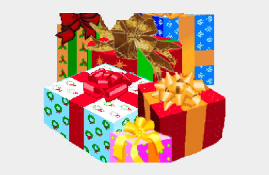 gift clipart, Cartoons - Christmas Gift Clipart - Merry Christmas Gifts Png