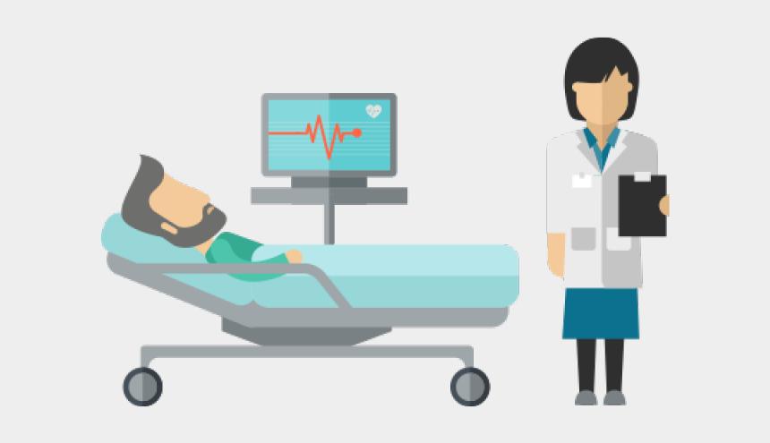 hospital clipart, Cartoons - Hospital Clipart Hospital Stay - Bed Hospital Vector