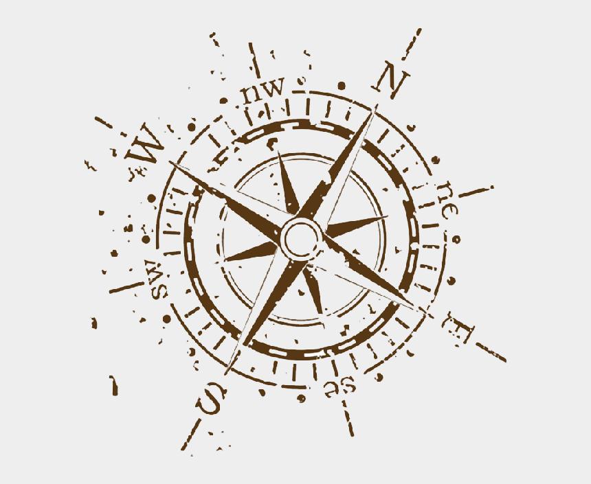 Compass Clipart Scout Map Compass Tattoo Designs Vector