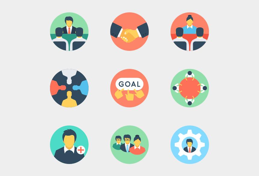 teamwork clipart, Cartoons - Teamwork - Teamwork Icons
