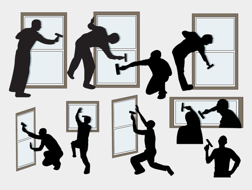 window clipart, Cartoons - People Clean Vector Clipart Window Silhouette Cleaner - Cleaning Service Silhouette Png