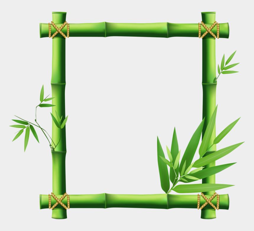 bamboo clipart, Cartoons - Bamboo Vector Png - Bamboo Border Design Clip Art